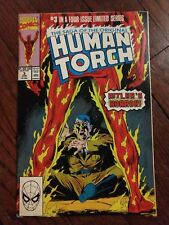 Marvel Comics Human Torch Hitler's Horror