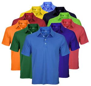 Adidas Men's Athletic Polo Puremotion Microstripe Shirt, Color Options