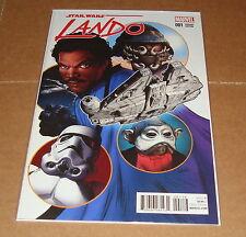 2015 Marvel Star Wars Lando #1 Greg Land 1:20 Variant Edition 1st Print