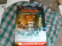NARNIA THE LION THE WITCH AND THE WARDROBE 1  SHEET MOVIE POSTER AUST DVD