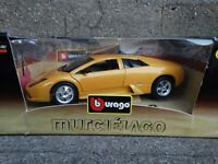 Bburago Lamborghini Murcielago 1:18 Scale Diecast Model Car Yellow
