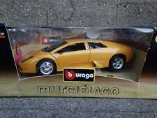 Bburago Lamborghini Murcielago 1:18 Scale Diecast Model Car Yellow