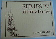 Pat Bird Series 77 miniatures soldier catalog  (Loc = Lkr 6)