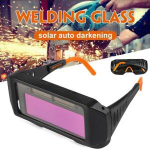 1x Solar Welder Schweißbrille Augen Schutz Automatik Verdunkelung Schweißmaske