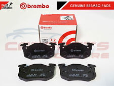 BREMBO GENUINE ORIGINAL PREMIUM BRAKE PADS PAD SET REAR AXLE P61032