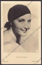 DOROTHEA WIECK 07 ATTRICE ACTRESS SCHAUSPIELERIN CINEMA - CAPPELLO HAT Cartolina