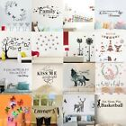 Family Kid Removable Vinyl Quote Wall Art Stickers DIY Decal Mural Home Decor