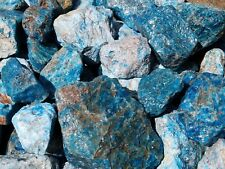BLUE APATITE LAPIDARY ROUGH FROM MADAGASCAR 10 LB LOT