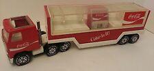 Buddy L Pressed Steel & Plastic Coke Is It Coca-Cola Trailer Truck Toy 1980