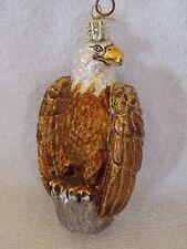 Old World Christmas Eagle Glass Christmas Ornament