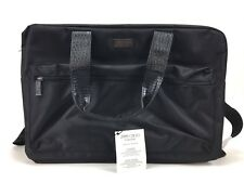 JIMMY CHOO Weekend Bag Sac Week-End Duffle Black faux leather