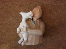 Tintin Figurine - Snowy Licking TINTIN by Leblon-Delienne Ref 7