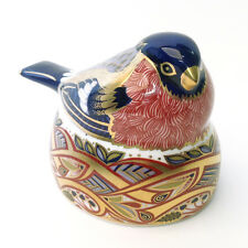 Royal Crown Derby Nesting Bullfinch Paperweight (no box)