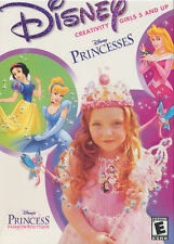 DISNEY PRINCESS FASHION BOUTIQUE Classic Creative PC Game for Girls Ages 5+ NEW