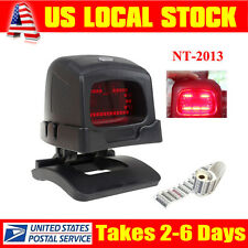 Automatic USB 2D QR Barcode Bar Code Scanner Reader for POS EPOS + Holder Stand