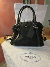 Prada Handtasche Damen,Prada schwarz,Handtasche Damen,Prada,Nylon,Nylontasche