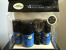 THE ART OF SHAVING  SET BARBA LAVANDA LAVENDER PENNELLO OLIO CREMA DOPOBARBA