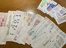 Over 50 Empty GB Stamp Booklets - Various designs & values