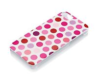 Gear4 Hard Clip-On Case Cover for iPhone 5/5S/SE - Pink Dots