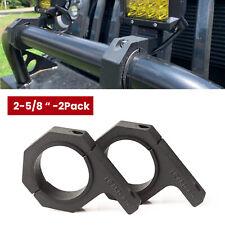 """2-5/8"""" Light Bar Mounting Bracket Bumper UTV ATV Heavy Duty Roll Bar Tube Clamp"""