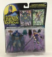"Legends of Batman Egyptian Catwoman 2 Pack 5"" Action Figures Vintage 1995 Kenner"