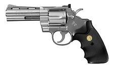 Tokyo Marui Colt Python 357 Magnum 4 in. Stainless color  Air HOP Hand gun #040