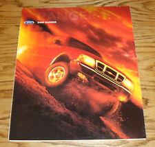 Original 2000 Ford Truck Ranger Foldout Sales Brochure 00
