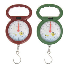 0-10kg Portable Numeral Pointer Spring Balance Hanging Weighing Clockface Scale