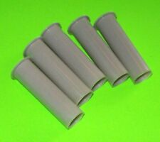 """Pinball Machine Coil Sleeves 1.75"""" Nylon Lot Of 5 Pop Bumpers Slingshots Outhole"""