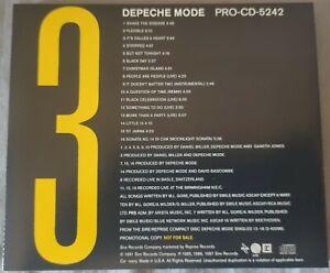 Depeche Mode. 16 Track Sampler. Promo Compilation 3. PRO-CD-5242.