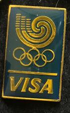 1988 Seoul Korea Summer XXIV Olympiad Commemorative 88 Olympic VISA Credit Pin