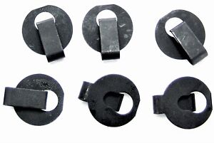 """GM Throttle Cable Clips- Fits 1/4"""" Rod With 5/32"""" Groove- 6 clips- #013"""