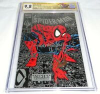 Spider-Man #1 CGC SS Signature Autograph STAN LEE MCFARLANE 9.8 Silver Edition
