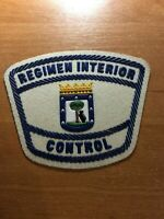 SPAIN PATCH POLICE POLICIA REGIMEN INTERIOR CONTROL ( MADRID ) - ORIGINAL!