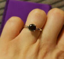1.24ct Black Diamond Ring
