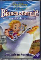 Dvd Disney **BIANCA E BERNIE NELLA TERRA DEI CANGURI** nuovo 1990