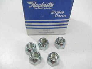 (5) Raybestos 1951N Wheel Lug Nuts - Front / Rear