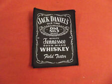 JACK DANIELS WHISKEY ORIGINAL PERIOD 70's 80's 90's SEW ON PATCH ROCK BAND METAL