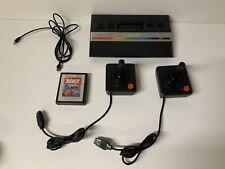 Atari 2600 Console 1 Game 2 Joystick Controllers