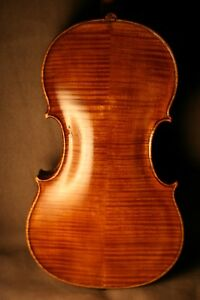 A VERY FINE OLD ANTIQUE FRENCH 18TH CENTURY VIOLIN BY VICTOR CLERMONT, NANCY.