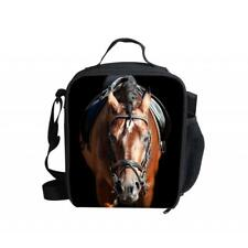 Outdoor Storage Bag Portable Tote Thermal Insulated Cooler Lunch Bag-HORSE