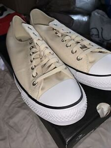 converse all star ox chuck taylor mens trainers size uk 13