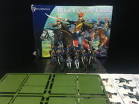 1/56 28mm Napoleonic Plastic DPS painted British Hussars,Perry Miniatures RC1011