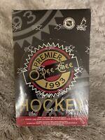 Unopened 1993 O-PEE-CHEE Premier Hockey FACTORY SEALED Box NHL 36 Packs Sealed