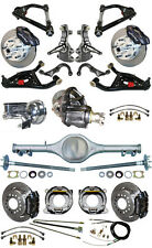 """NEW 2"""" DROP SUSPENSION & WILWOOD BRAKE SET,CURRIE REAR END,ARMS,POSI GEAR,676971"""