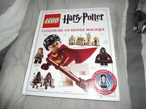 """lego harry potter livre """" construire un monde magique """"kg"""
