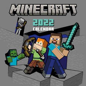 Calendario 2022 30X30 Minecraft