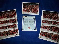 Lot of 10 - 1990-91 Upper Deck #451 Team Canada Juniors Team Niedermayer +++++