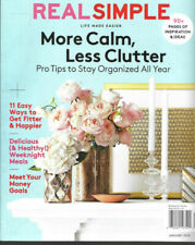 Real Simple Magazine November 2017 Make It Meaningful Ideas to Get Organized