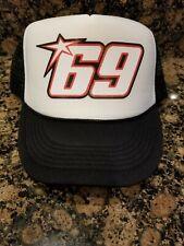 New 69 Nicky Hayden Moto GP Trucker Hat Baseball Cap Snapback